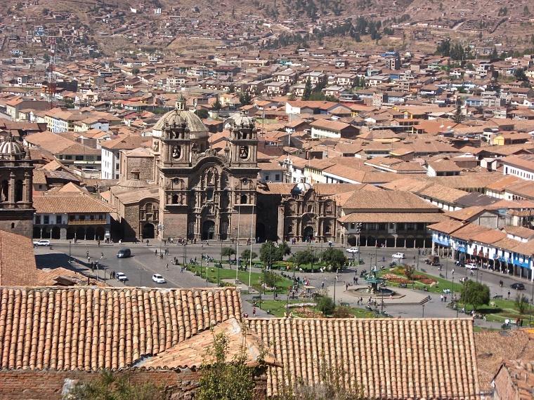 Cusco city Plaza